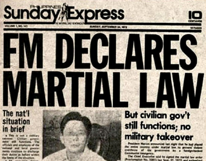 Still haunted by Marcos' martial law 1
