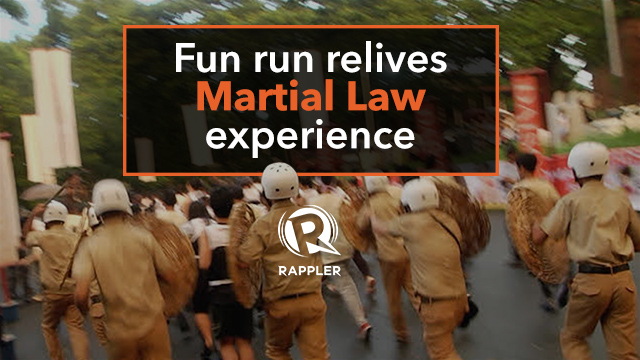 Fun run relives Martial Law experience
