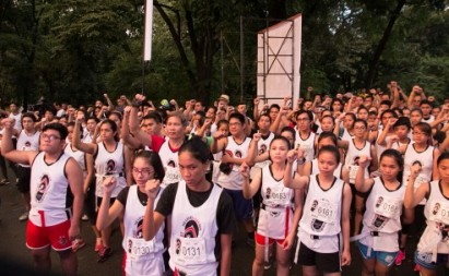 #NEVERAGAIN | Young people experience horrors of martial law through The Great Lean Run