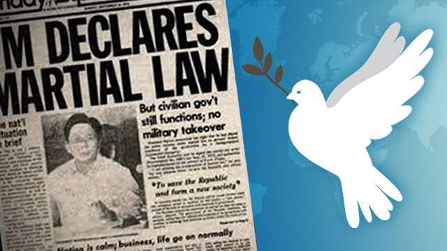 Netizens reflect on September 21, #MartialLaw and #PeaceDay