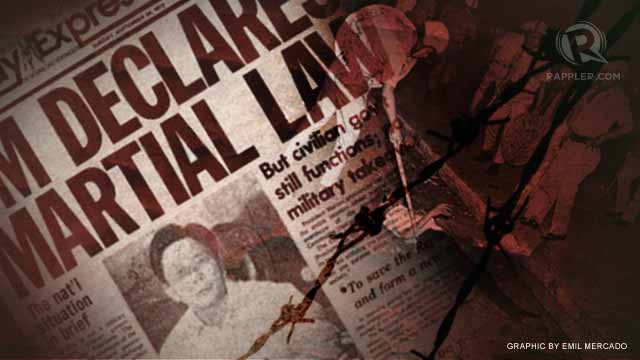Martial Law Memory Project | 'We were able to help, interact with the victims'