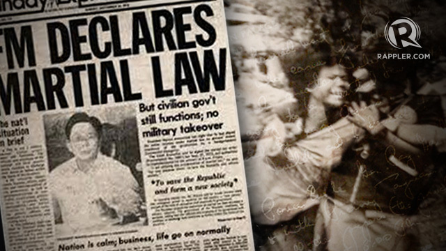 Help youth understand why 'never again' to martial law – Malacañang