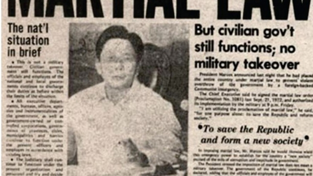 Marcos' Martial Law orders