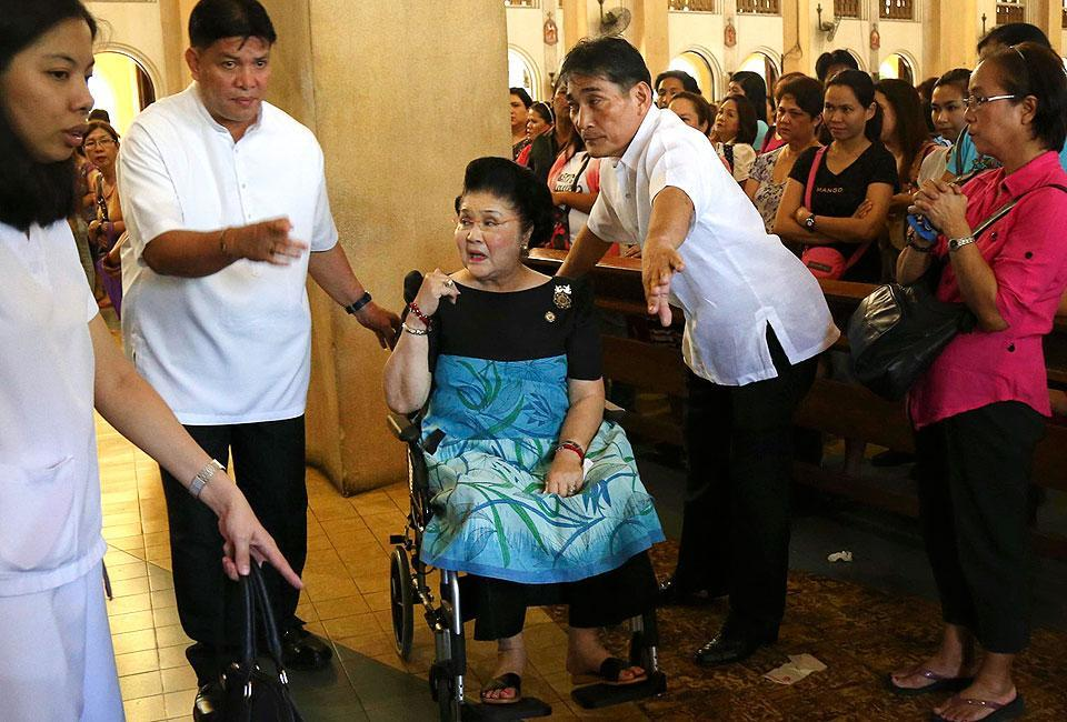 Imelda accidentally attends Mass for Martial Law victims