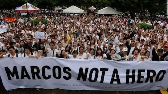 Massive protest action against Marcos burial set on Nov. 25