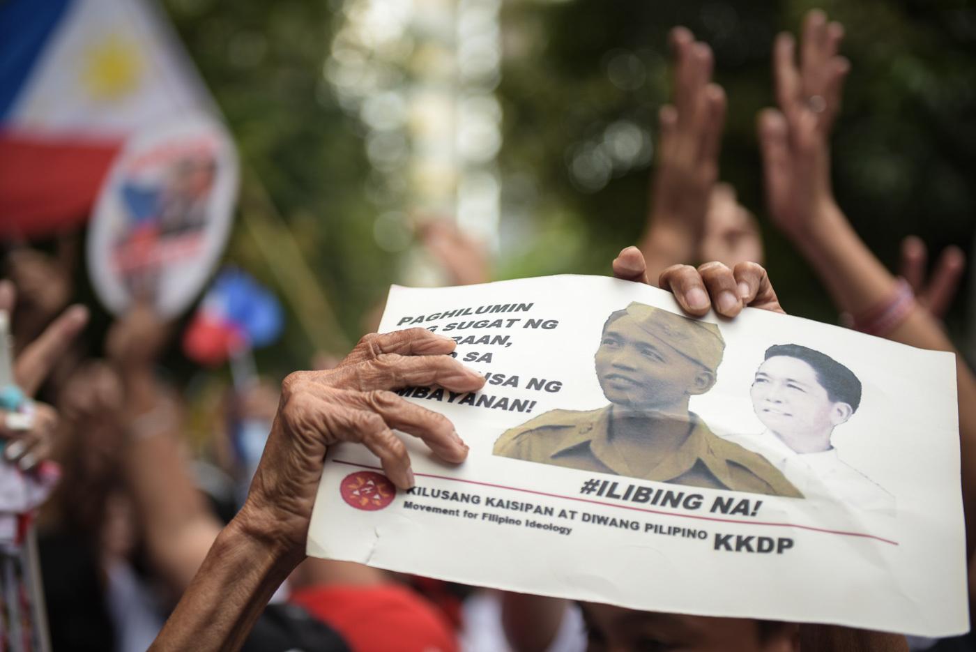 SC favors dictator Marcos' burial at Libingan ng mga Bayani
