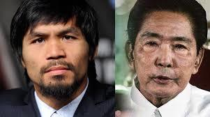Pacquiao says no one but God can judge ex-Pres. Marcos