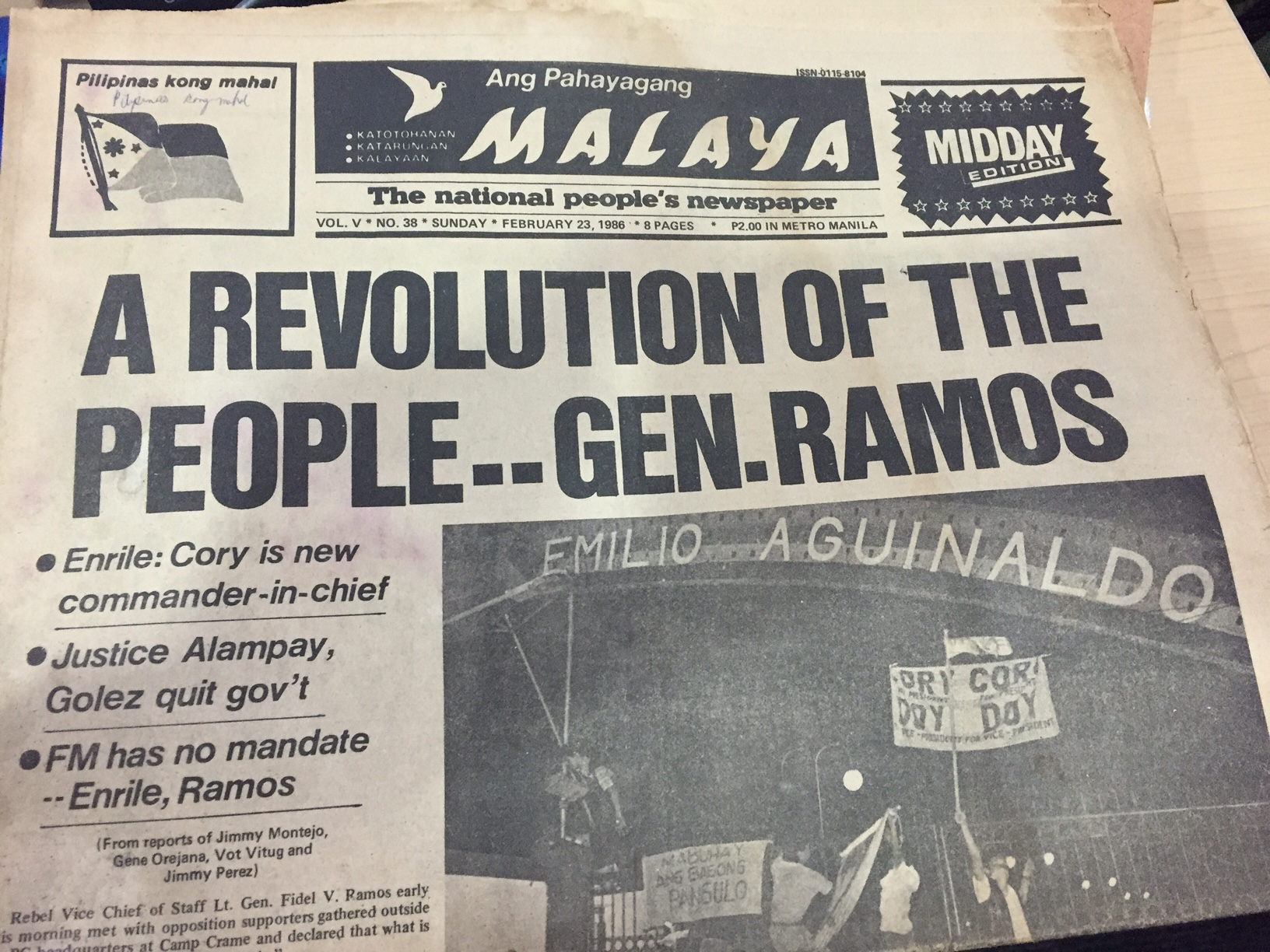 Revisiting the 'WE Forum' raid, Martial Law and the Marcos war record 5