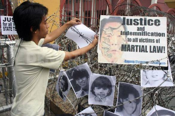 Martial Law victims to Aquino: Enact the Marcos Victims Compensation Bill into law