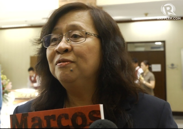 Raissa Robles: 'We never knew extent of repression under martial law'