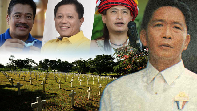 To bury Marcos at Libingan is to bury martial law 'atrocities' – lawmakers