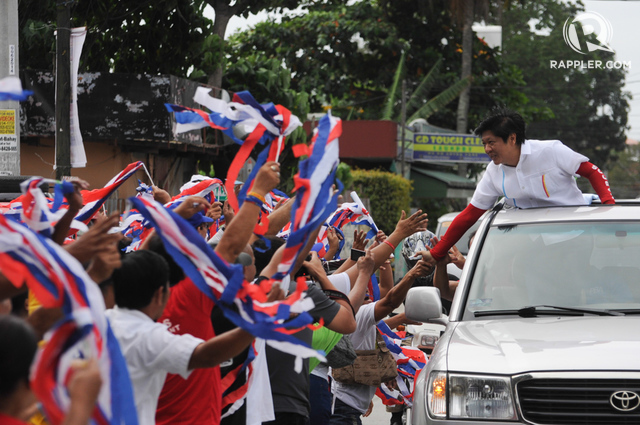 How Bongbong Marcos mirrors father's image in campaign 12