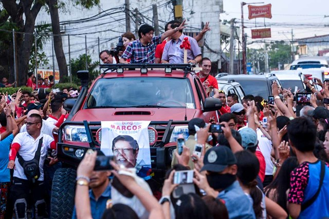 How Bongbong Marcos mirrors father's image in campaign 6