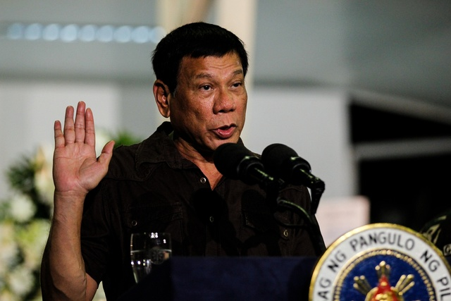 Duterte: Marcos 'not a hero' but 'law' allows burial at Libingan