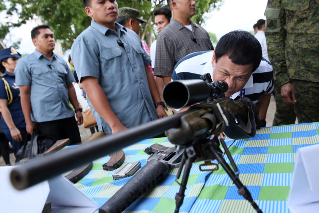Duterte warns of 'Marcos copycat' martial law