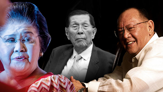 Court excludes Enrile from 1987 Marcos-Cojuangco loot case