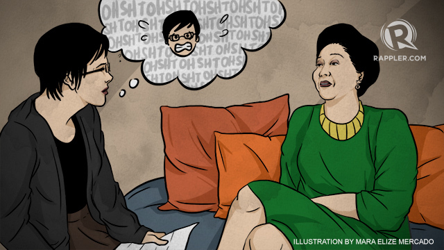 I interviewed Imelda Marcos when I was 16 years old 1