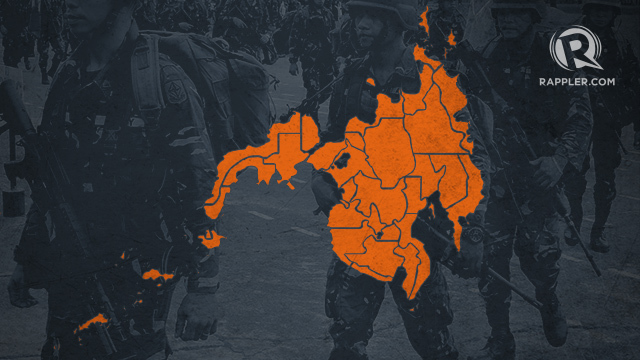 What happens to local government units during martial law?