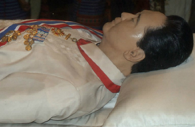 Marcos 'body' still in Batac mausoleum after burial