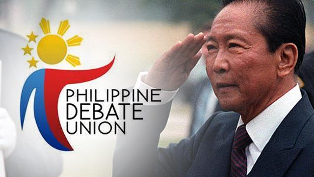 PH college debaters condemn hero's burial for Marcos