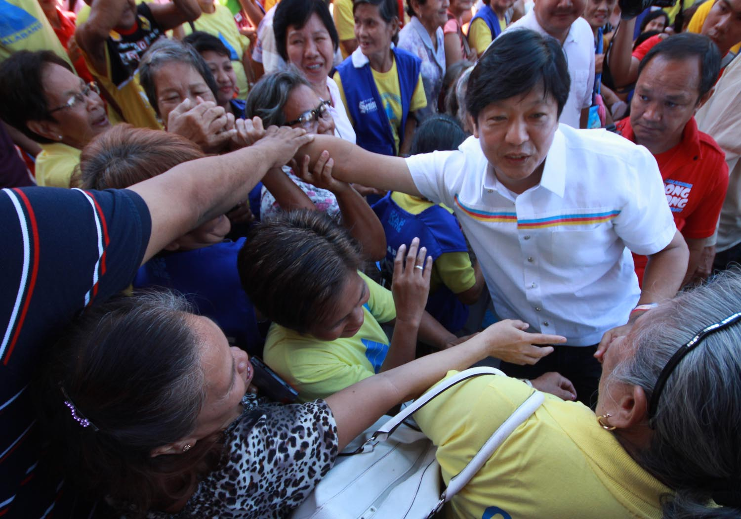 How Bongbong Marcos mirrors father's image in campaign 9