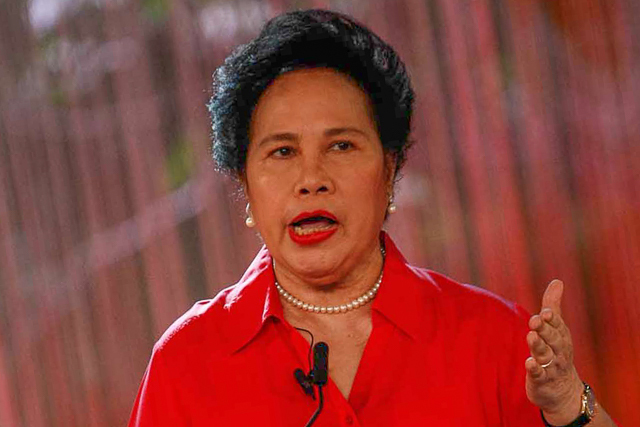 Miriam Santiago wants referendum on hero's burial for Marcos