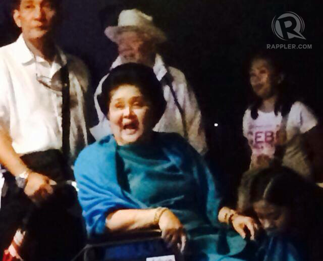 Imelda Marcos at papal Mass: I love the poor