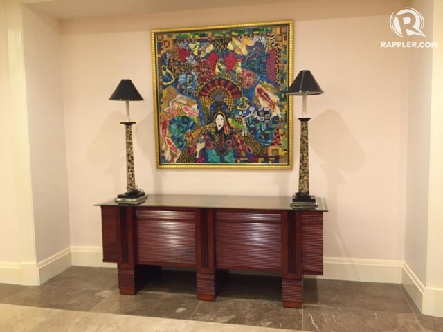 What's a Marcos painting doing in Robredo's future office? 2