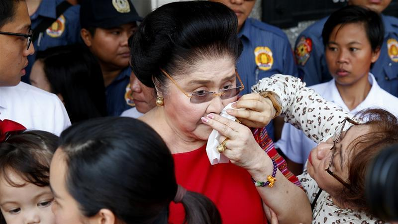 Former Philippine first lady Imelda Marcos faces jail over fraud