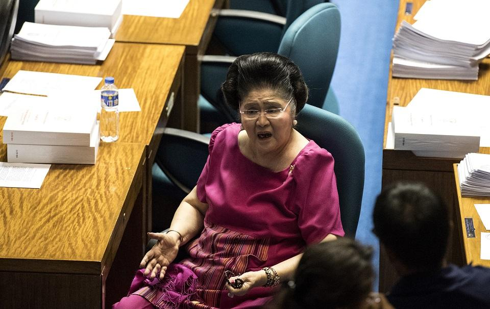 Imelda Marcos: I missed judgment day due to 7 ailments