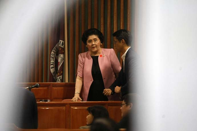 Imelda's rights would be violated if arrested without a warrant – PNP 1