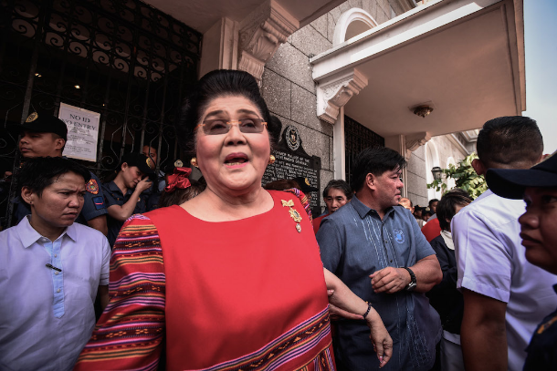 Philippine court convicts Imelda Marcos for graft 1