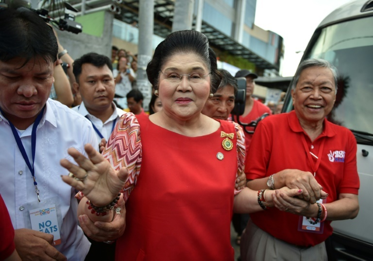 Imelda explains absence in Sandiganbayan: No to 'stressful conditions'
