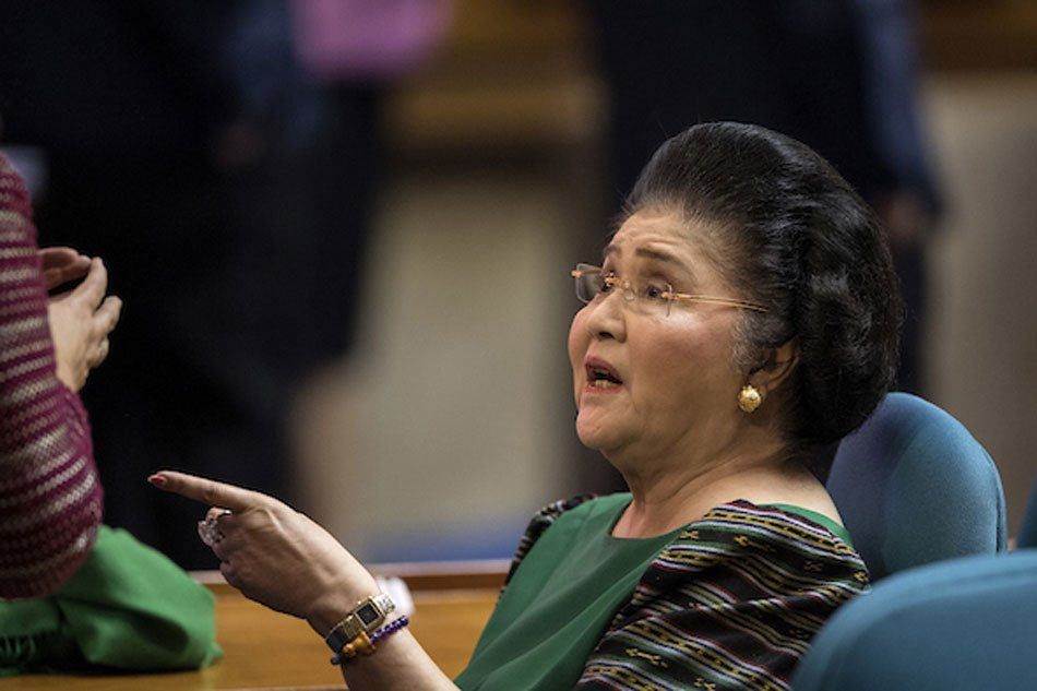Imelda Marcos cites 'multiple organ infirmities' in skipping promulgation