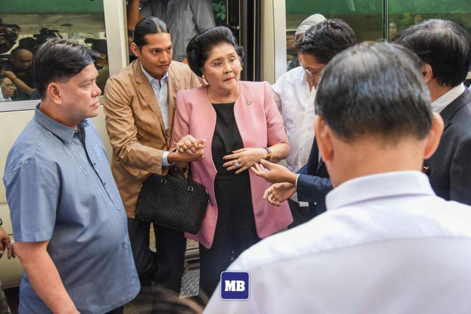 Imelda: 'I was watching TV' on the day of guilty verdict