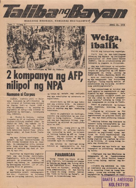 Martial Law Stories: Remembering 4