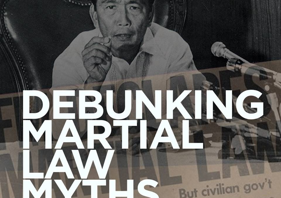 Martial Law Myths