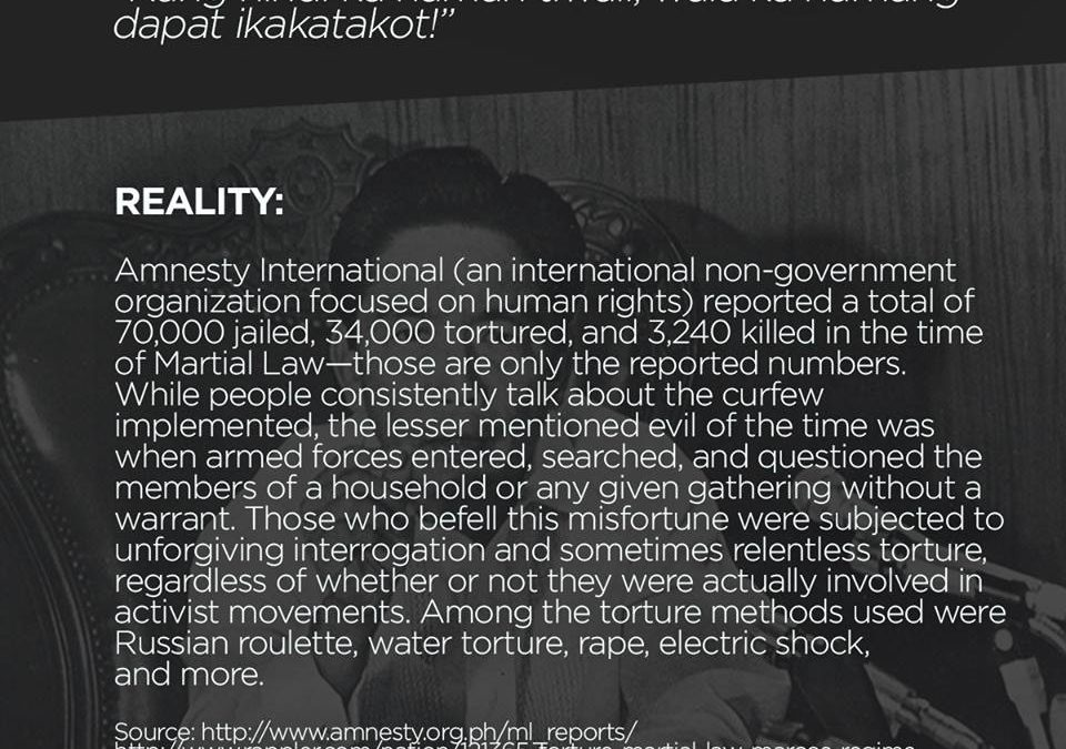 Worse than death: Torture methods during martial law