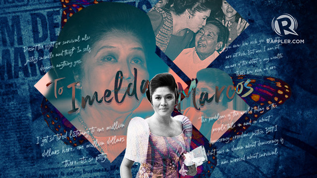 [OPINION] To Imelda Marcos