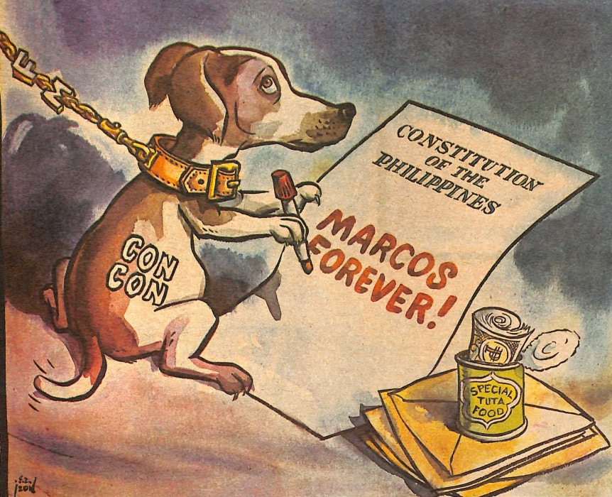 Look Back At The Philippine Free Press' Marcos-Era Editorial Cartoons 7