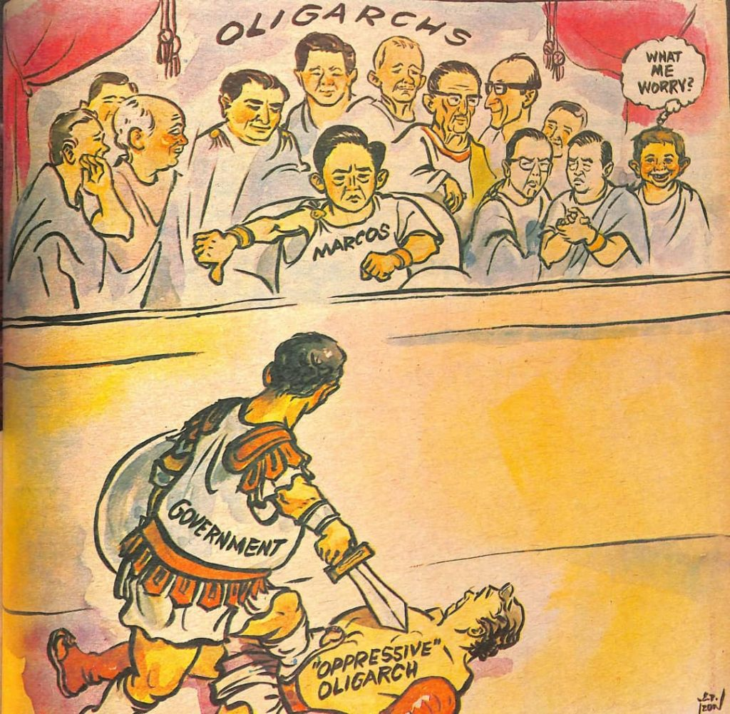 Look Back At The Philippine Free Press' Marcos-Era Editorial Cartoons 17