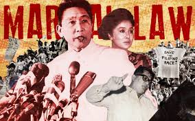 Martial law: A little story from a dark period