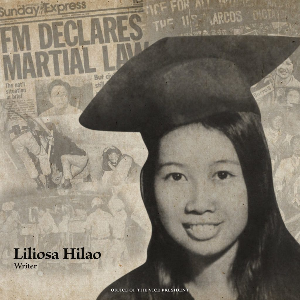 Leni Robredo shares the stories of Martial Law martyrs 2