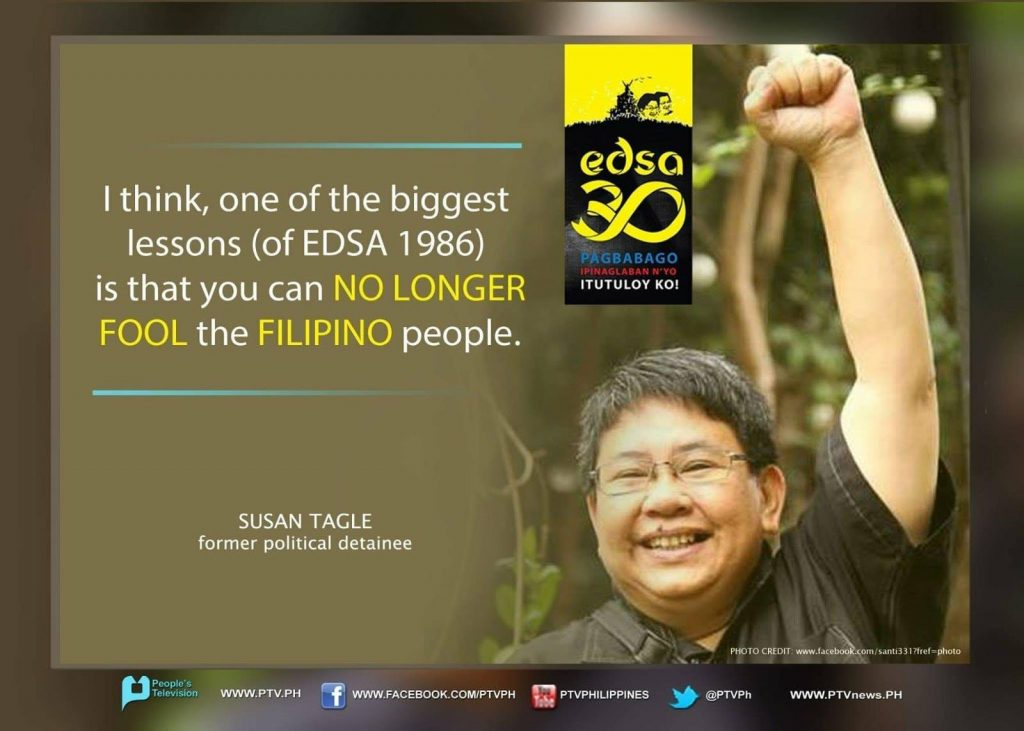"""""""43 year later, the struggle continues.  It may be a different dictator but the conditions haven't changed much and the fight goes on."""" - Susan Tagle 3"""