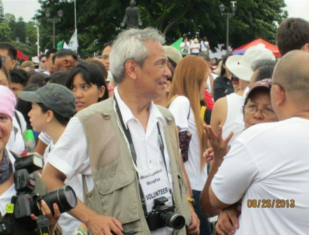 """""""It has been a number of decades since. And here we are, once again, being  challenged by another dictatorship."""" - Jim Paredes 3"""