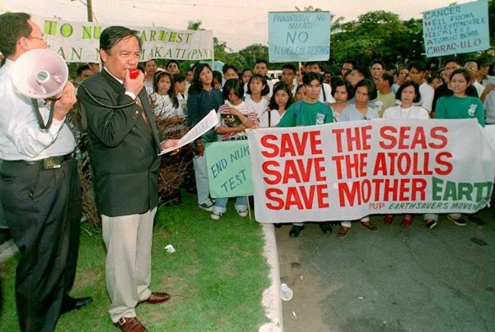 """But it was natural for me to own the blame for causing so much grief on my family. They had to move to Manila from Isabela and live almost like refugees."" - Heherson ""Sonny"" Alvarez 1"